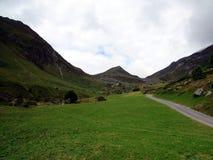 La route à la montagne Photo libre de droits
