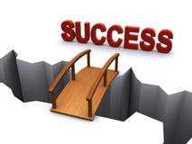 La route à la réussite Image stock