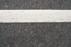 La route à marquage routier Images stock