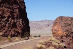 La route à Mars Image libre de droits