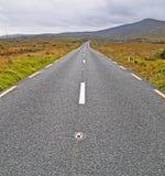 La route à nulle part Photographie stock libre de droits