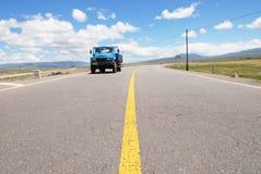La route Photos stock
