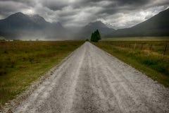 La route au paradis Photos libres de droits