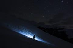 La route aux étoiles Images libres de droits