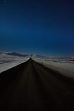 La route aux montagnes Photo libre de droits