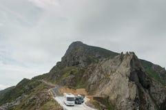La route d'Ortegal de cap Photographie stock
