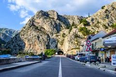 La route dans l'Omis photos stock