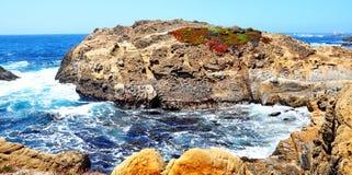 La route de Côte Pacifique en Californie Photos stock