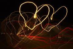 La route de l'amour Photos libres de droits