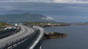 La route de l'Océan Atlantique Photographie stock
