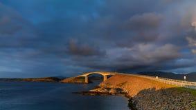 La route de l'Océan Atlantique Photo libre de droits