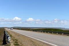La route de Rio Grande à Ushuaia Image stock