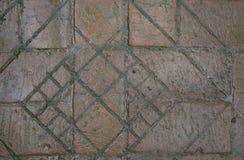 La route des vieilles briques Photo libre de droits