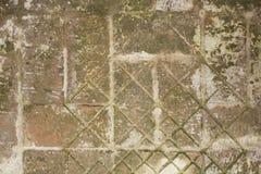 La route des vieilles briques Images libres de droits