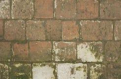 La route des vieilles briques Photographie stock