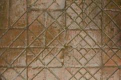 La route des vieilles briques Photos libres de droits