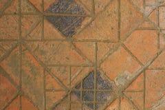 La route des vieilles briques Image libre de droits