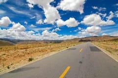 La route en avant Photographie stock libre de droits