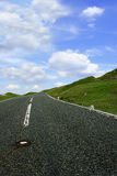 La route en avant image stock