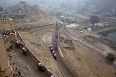 La route en Inde Photo libre de droits