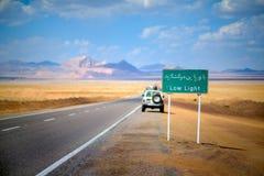 La route en Iran Image libre de droits