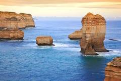 La route grande d'océan, Melbourne Images stock