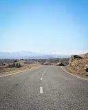 La route grande ouverte Image libre de droits