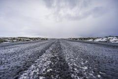 La route interminable Image libre de droits