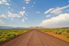 La route moins a voyagé Image libre de droits