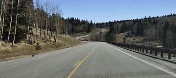 La route moins a voyagé Photos libres de droits