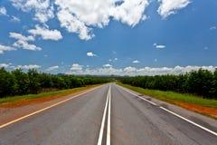 La route rurale de la Malaisie Image libre de droits