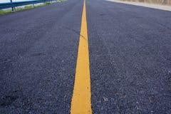 la route sans fin Photos stock