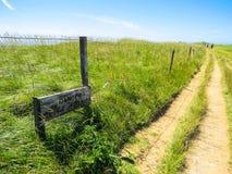 La route sur des falaises Images stock