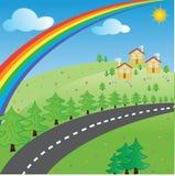 La route sur le repos Image libre de droits