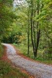 La route tranquille Photo stock