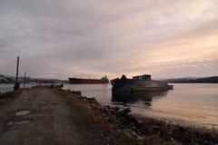 La route vers l'Arctique Images stock