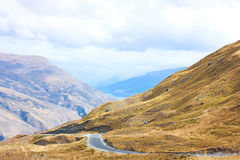 La route vers Queenstown Images stock
