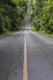 La route vide Image libre de droits