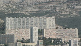 La Rouviere, Antenne Frankreichs, Marseille stock video