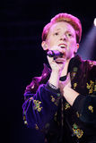 La Roux Performing Live Royalty Free Stock Images