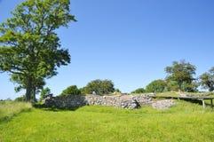 La rovina del castello di Soeborg fotografia stock libera da diritti