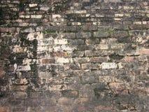 La rovina di vecchio mattone Immagine Stock