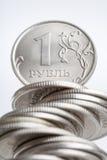 La rublo Immagine Stock