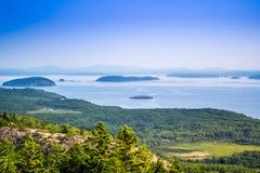 La ruche Cliff Trail en parc national d'Acadia, Maine photographie stock libre de droits