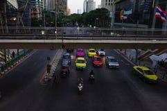 La rue à Bangkok photo libre de droits