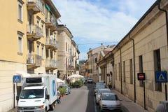 La rue à Vérone Photos libres de droits