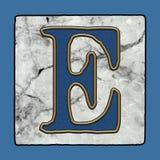 La rue classique iconique historique de la Nouvelle-Orléans couvre de tuiles des nombres grunges et des symboles d'alphabet de le illustration de vecteur