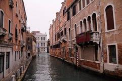 La rue dans le ll de Venise Photographie stock
