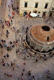 La rue de Dubrovnik Photos stock