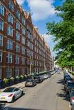 La rue de Londres Photographie stock libre de droits